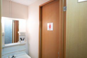 トイレ共に男女別